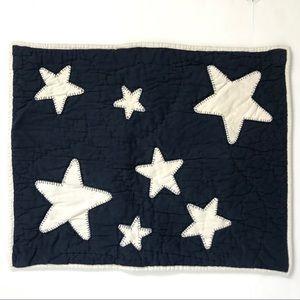 Pottery Barn Kids Navy Star Standard Pillow Sham
